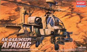 Academy AH-64A (MSIP) Apache Helicopter (2115)